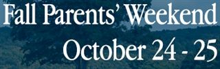 Fall Parents' Weekend