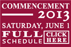 Commencement week events