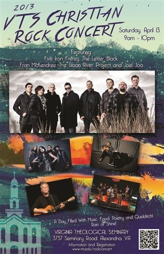 VTS Rock Concert poster